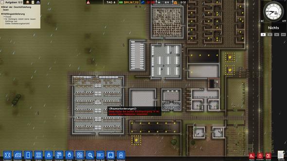Bild vom Gefängnis - (Gefängnis, Kantine, prison architect)
