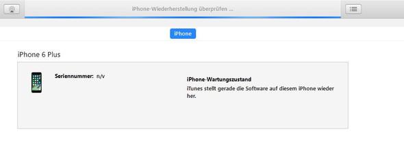 Wie lange dauert das iphone Backup?