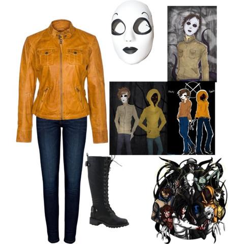 - (Cosplay, Maske, creepypasta)
