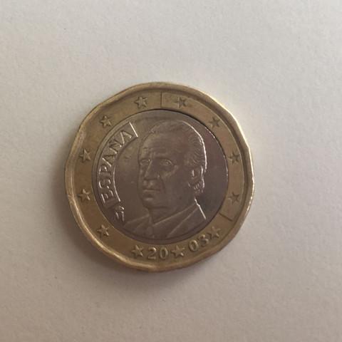 1 Fehlprägung Geld Spanisch Euro