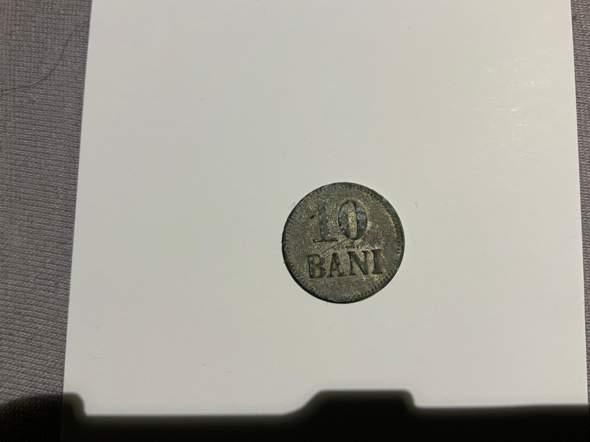 10 Bani G. Stagni - Was für eine Münze ist das, Kriegsgeld?