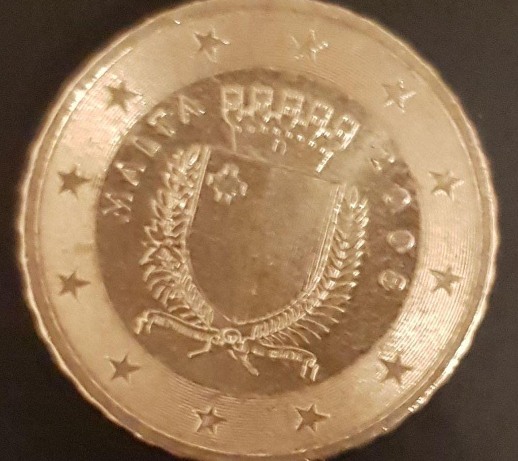 10 Cent Münze Aus Malta 2006er Münzen Euro Münzen