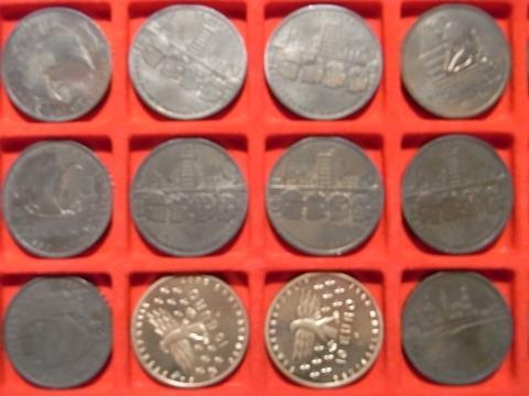 10 Gedenkmünzen Schwarz Angelaufen Wie Kann Man Sie Reinigen