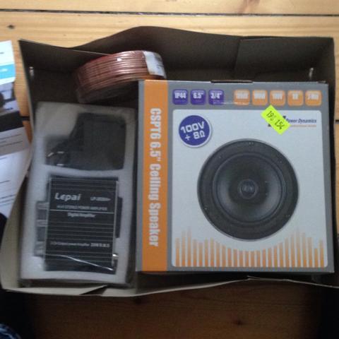 Box, Verstärker - (Sound, Lautsprecher, Radio)