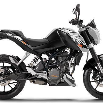 KTM Duke - (Motorrad, Moped, 125ccm)