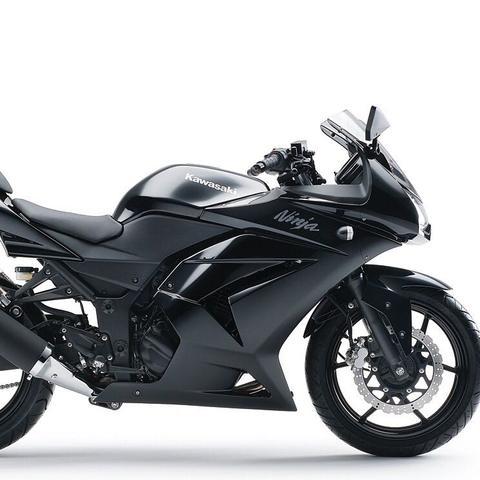 motorrad mit 16