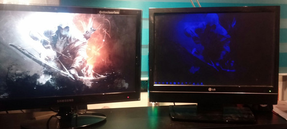 Hier mein Problem - (PC, Monitor)