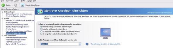 Nvidia Menu - (Computer, Monitor, Bildschirm)