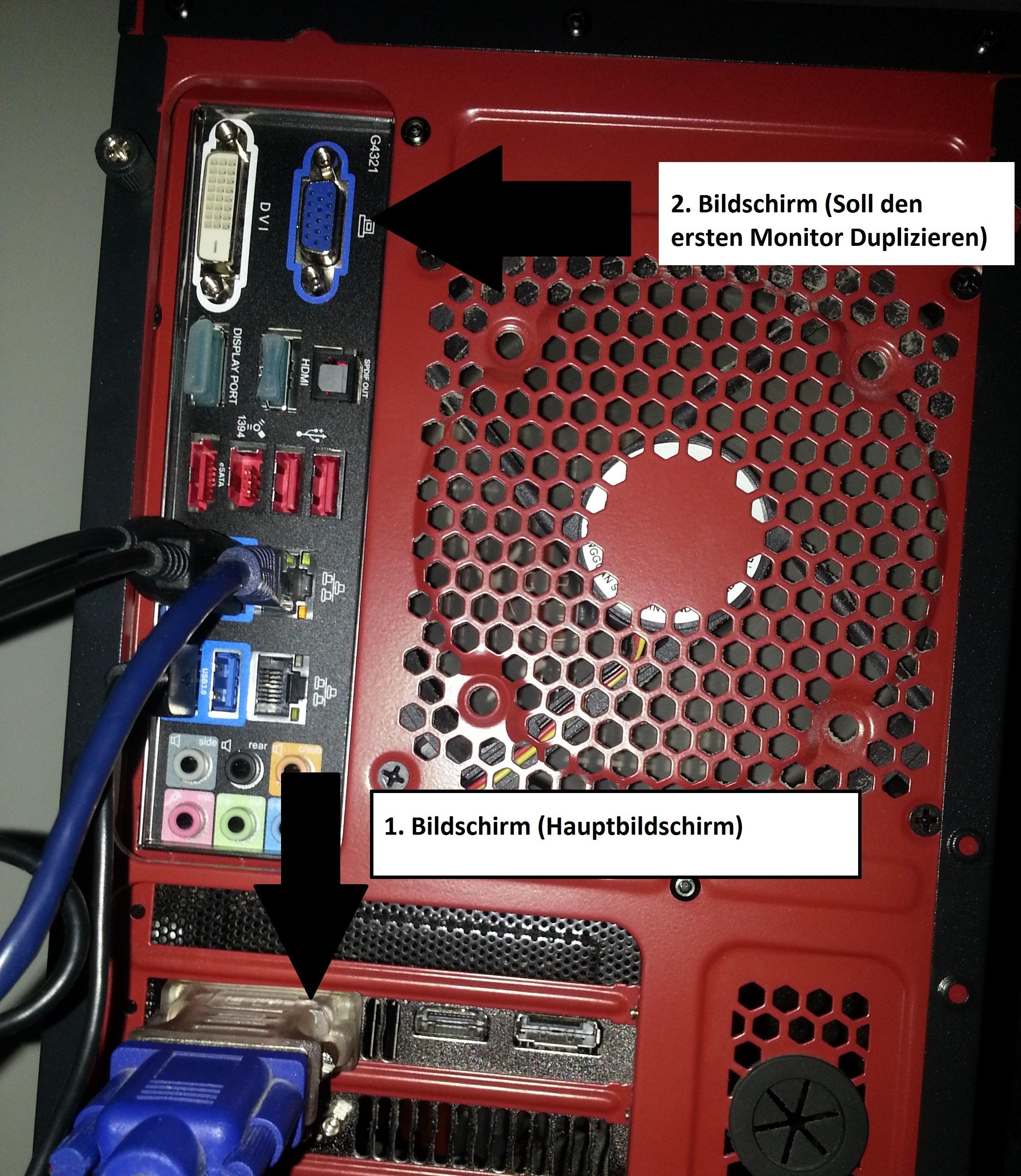 2 Bildschirme An Pc Anschließen Adapter