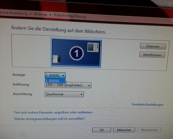 PC erkennt 2ten Bildschirm nicht - (Computer, Bildschirm, Kabel)