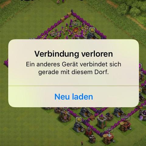 2 Clash of Clans Dörfer mit einer apple id?