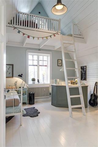 2 etage im zimmer wohnung haus bett. Black Bedroom Furniture Sets. Home Design Ideas