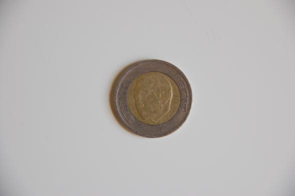 2 Euro ähnliche Münze Münzen Fälschung