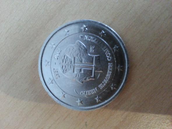 2 Euro Münze Komplett Im Silber Geld Deutschland Währung