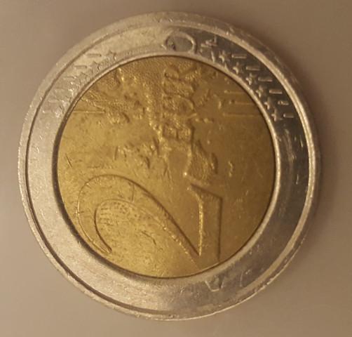 2 Euro Münze Vorderseite 3 - (sammeln, Münzen, Fehlprägung)