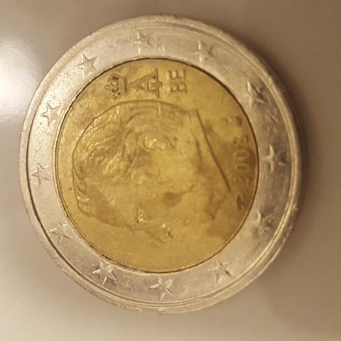2 Euro Münze Rückseite - (sammeln, Münzen, Fehlprägung)