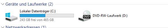 Nur meine 1. Festplatte (SSD) und mein DVD Laufwerk wird angezeigt - (Computer, Hardware, Festplatte)