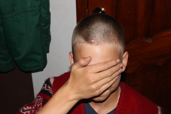 2 Mm Maschinenschnitt Haare