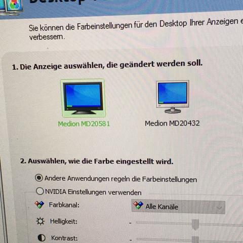 Zwei Bildschirme werden erkannt. Doch er zeigt kein Bild an. - (Grafikkarte, Bildschirm, HDMI)