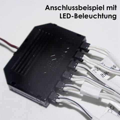 2 poliger LED Verteiler mit Alexa steuern?
