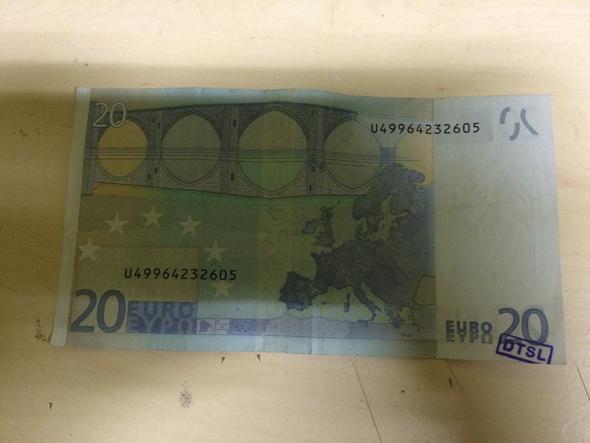 DTSL-Stempel ? - (Geld, Banknoten)