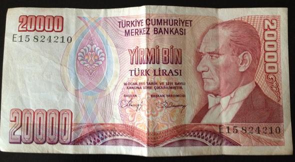 Türkische Lira - (Geld, Ausland, Türkei)
