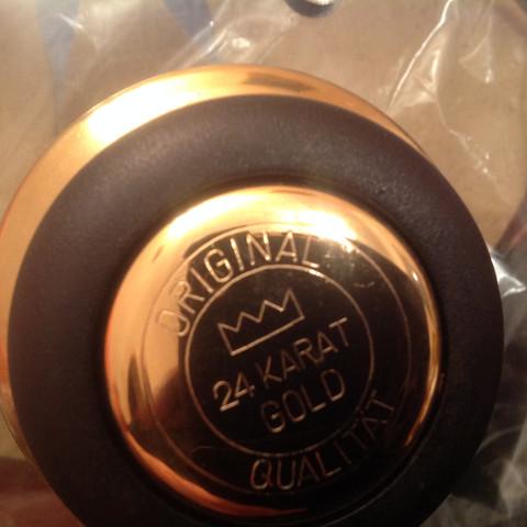 ee13fbd0741a 24 Karat Gold kochtopfset würde gerne wissen welche marke das ist ...