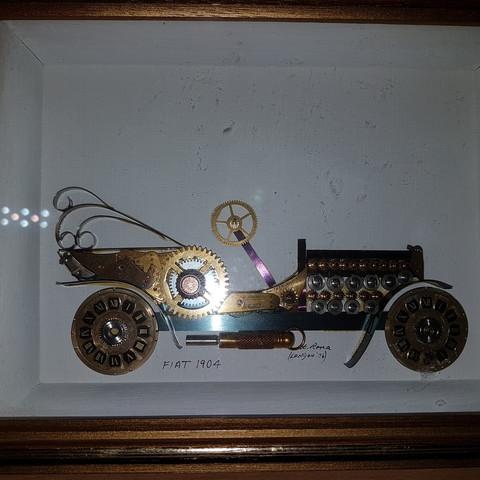 FIAT 1904 - (Auto, Bilder, Kunst)