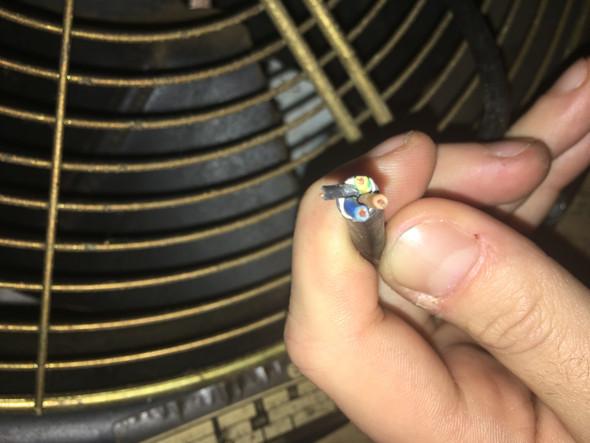 3-adriges Stromkabel auf 4-adriges anschließen? (Strom, Kabel, Elektrik)
