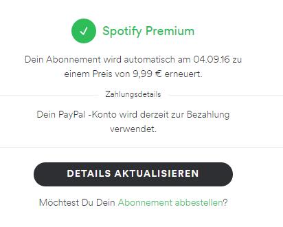 spotify 3 monate kostenlos