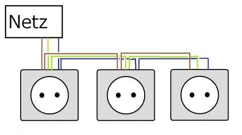 3 UP Steckdosen richtig installieren (Neulingsfrage) (Elektronik ...