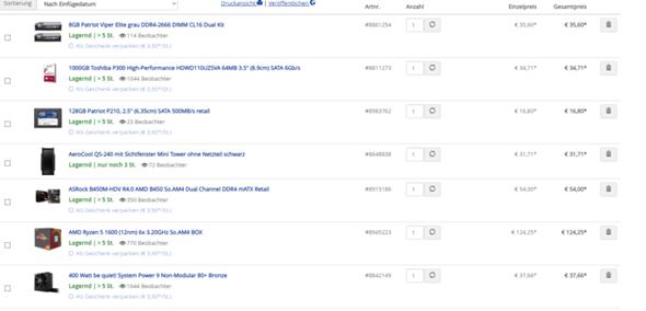 300€ OFFICE PC?