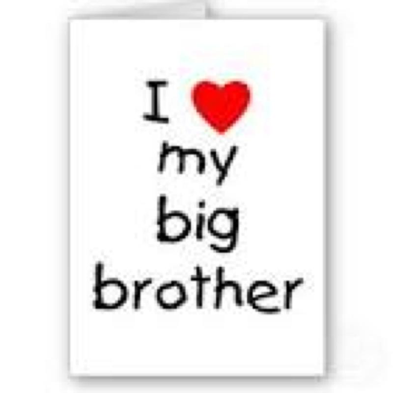 Ich habe den besten Bruder der Welt!Wie kann ich.... (Geschenk)
