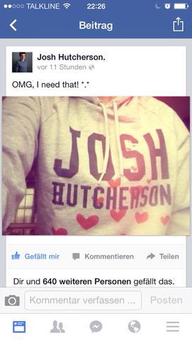 Josh Hutcherson Pulli *o* - (kaufen, Pulli, Josh Hutcherson)