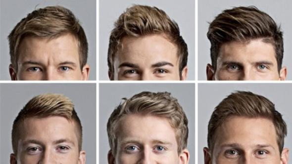 Bild 3 und welches dann von denen  - (Haare, Männer, Frisur)