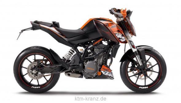 Ktm duke  - (Motorrad, 125ccm, 125er)