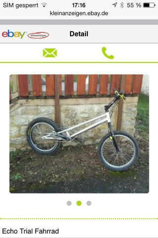 Trial bike Echo   - (Sport, Fahrrad, Kraft)