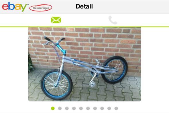 Trial bike onza rip - (Sport, Fahrrad, Kraft)