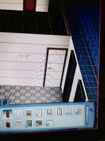 Die Tür  - (Computer, Grafik, Sims3)