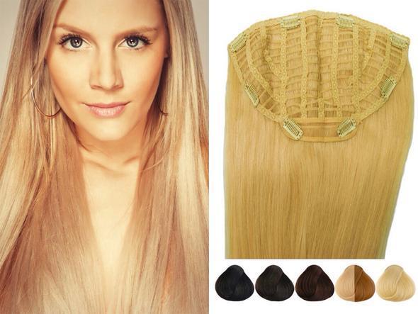 Haarteil  - (lange Haare, clip in, Haarteil)
