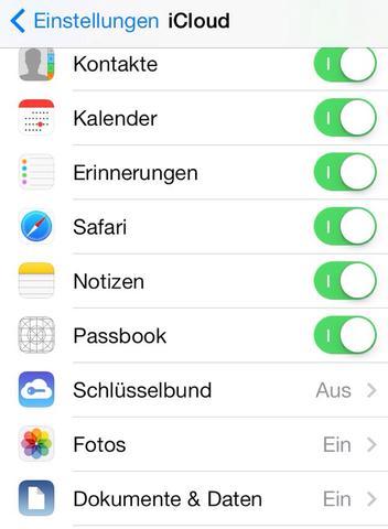 Passbook Symbol aus der Icloud - (Handy, iPhone, Apple)