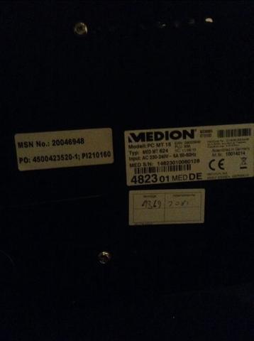 Unterseite des PC's - (Computer, PC, Mainboard)