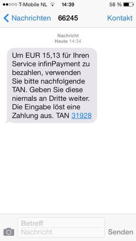 Diese SMS erhielt kurz danach ich meine Nummer gegeben hab . - (Internet, Recht, Betrug)