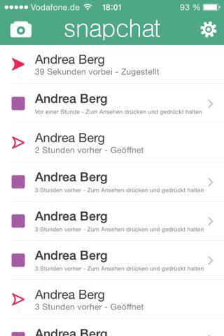 Snapchat mit Freundin (Name gefakt) - (iPhone, Apple, Chat)