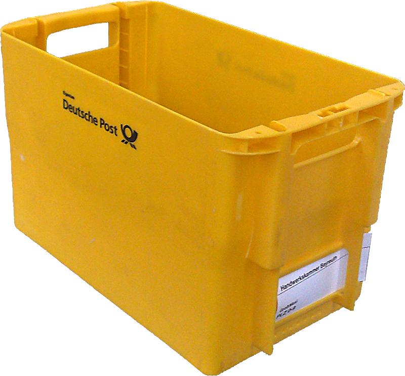 wie kann ich die gelben postkisten beziehen kaufen post kiste. Black Bedroom Furniture Sets. Home Design Ideas