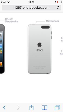 iPod ohne Kamera  - (Apple, iPod, Touch)