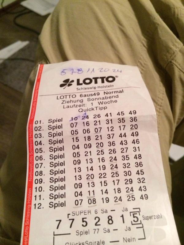 Habe Im Lotto Gewonnen