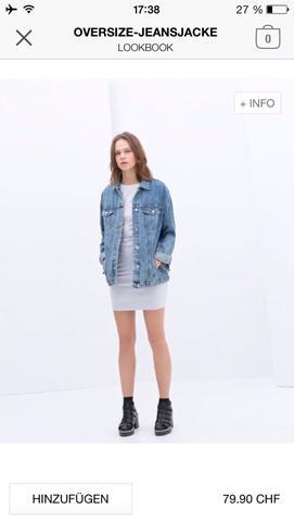 oversize jeansjacken passt das zu frauen fashion jeansjacke. Black Bedroom Furniture Sets. Home Design Ideas