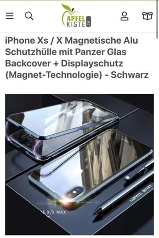 360 Grad Silikon Hülle oder Magnetische Alu Schutzhülle mit Panzer Glas?