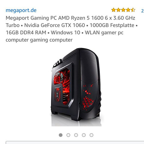 Megaport PC - (Grafikkarte, Gaming PC)